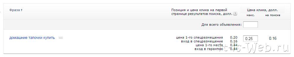 Яндекс Директ 4